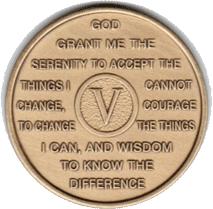 Year Five Medallion