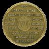 year 15 medallion