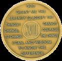year 18 medallion