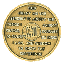 year 22 medallion
